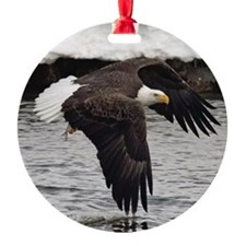 Eagle, Fish in Talons Ornament