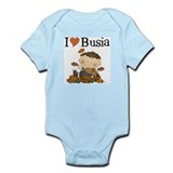Autumn Boy I Love Busia Infant Bodysuit