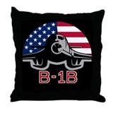 B-1B Lancer Throw Pillow