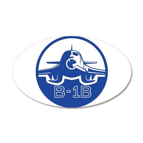 B-1B Lancer 35x21 Oval Wall Decal