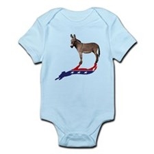 Dem Donkey Shadow Infant Bodysuit