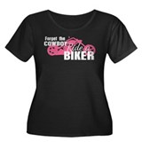Forget the Cowboy, Ride a Biker Plus Size T-Shirt