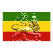 Rasta Reggae Lion of Judah Decal