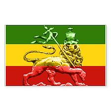 Rasta Reggae Lion of Judah Decal