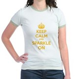 Keep calm and sparkle on T