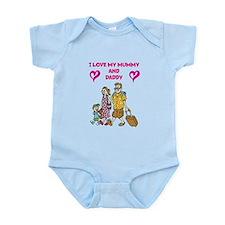 I Love Mummy and Daddy - Infant Bodysuit