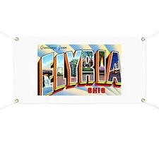 Elyria Ohio Greetings Banner