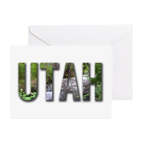 Utah Souveniers Greeting Cards (Pk of 10)