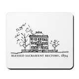 Historic Hyde Square - Rectory Mousepad