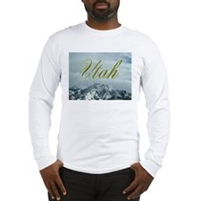 Utah Mountains - Apparel Long Sleeve T-Shirt