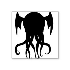 "Chthulu 1926 Square Sticker 3"" x 3"""