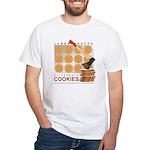 Lumbersnacks Cookie T-Shirt (white)