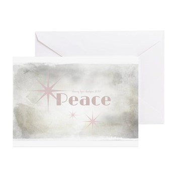 Peace Christmas Cards (Pk of 10)