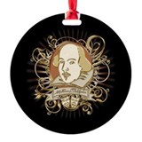 Shakespeare Crest Ornament