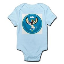 Altai Coat of Arms Infant Creeper