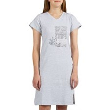 DoctorFaustus1-grey.png Women's Nightshirt