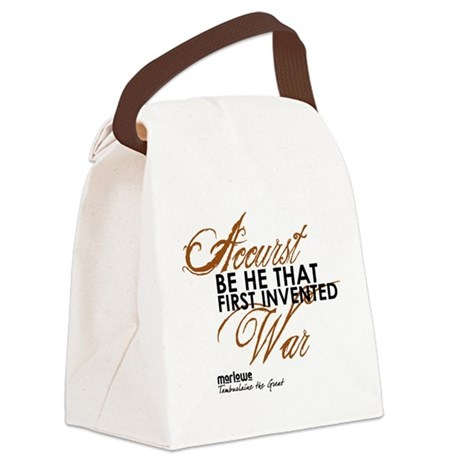 Tamburlaine1.png Canvas Lunch Bag
