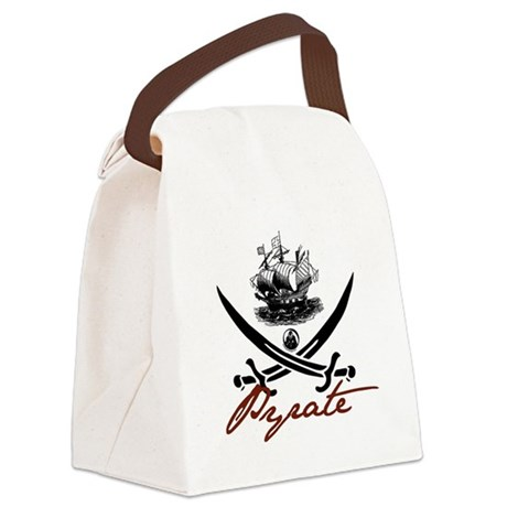 pirate1-light.png Canvas Lunch Bag