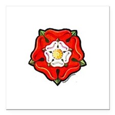 "rose1.png Square Car Magnet 3"" x 3"""
