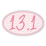 13.1 Pink Chevron Decal