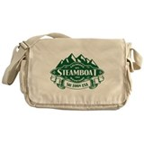 Steamboat Mountain Emblem Messenger Bag