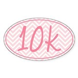10k Pink Chevron Décalcomanies