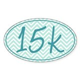 15k Blue Chevron Decal