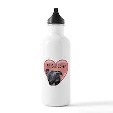Pit Bull Lover Water Bottle