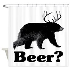 Beer? Shower Curtain