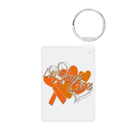 RSD Love Hope Cure Aluminum Photo Keychain