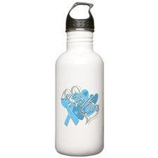 Prostate Cancer Love Hope Cure Water Bottle
