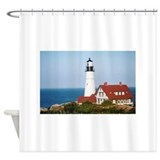 Portland Head Light2 Shower Curtain