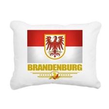 Brandenburg (Flag 10).png Rectangular Canvas Pillo