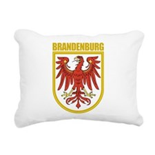 Brandenburg (gold).png Rectangular Canvas Pillow