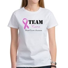 Team Pink Breast Cancer Tee
