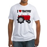 I Love (Heart) Tractors Shirt