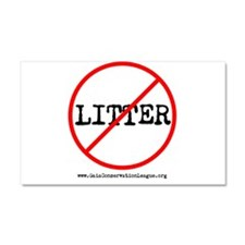 Anti Litter Car Magnet 20 x 12