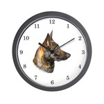 Malinois Wall Clock