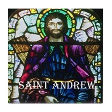Saint Andrew Tile Coaster