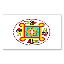 SOUTHEAST INDIAN DESIGN Decal