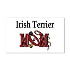 Irish Terrier Mom Car Magnet 20 x 12