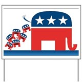 GOP Logo Yard Sign