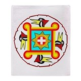 SOUTHEAST INDIAN DESIGN Throw Blanket