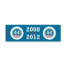 44 Squared Obama Car Magnet 10 x 3