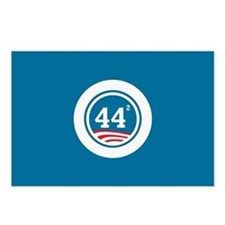 44 Squared Obama Postcards (Package of 8)