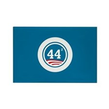 44 Squared Obama Rectangle Magnet (100 pack)
