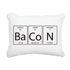 Bacon periodic Rectangular Canvas Pillow