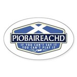 Piobaireachd Rectangle Stickers