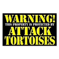 Attack Tortoises Sticker (3 x 5)