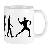 Evolution Baseball Coffee Mug
